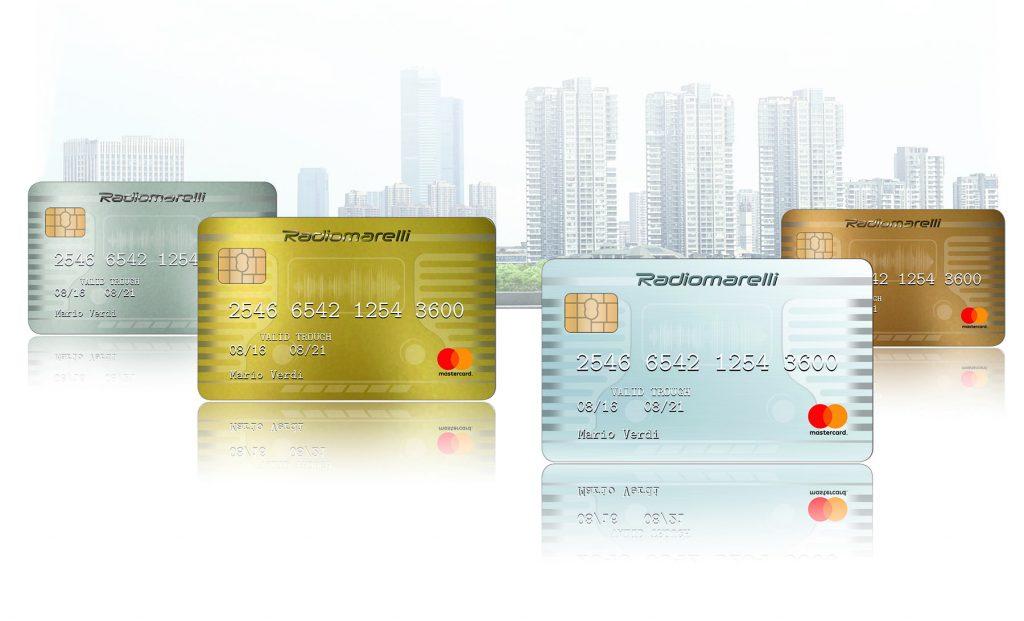 Radiomarelli :: Linea Carte di credito