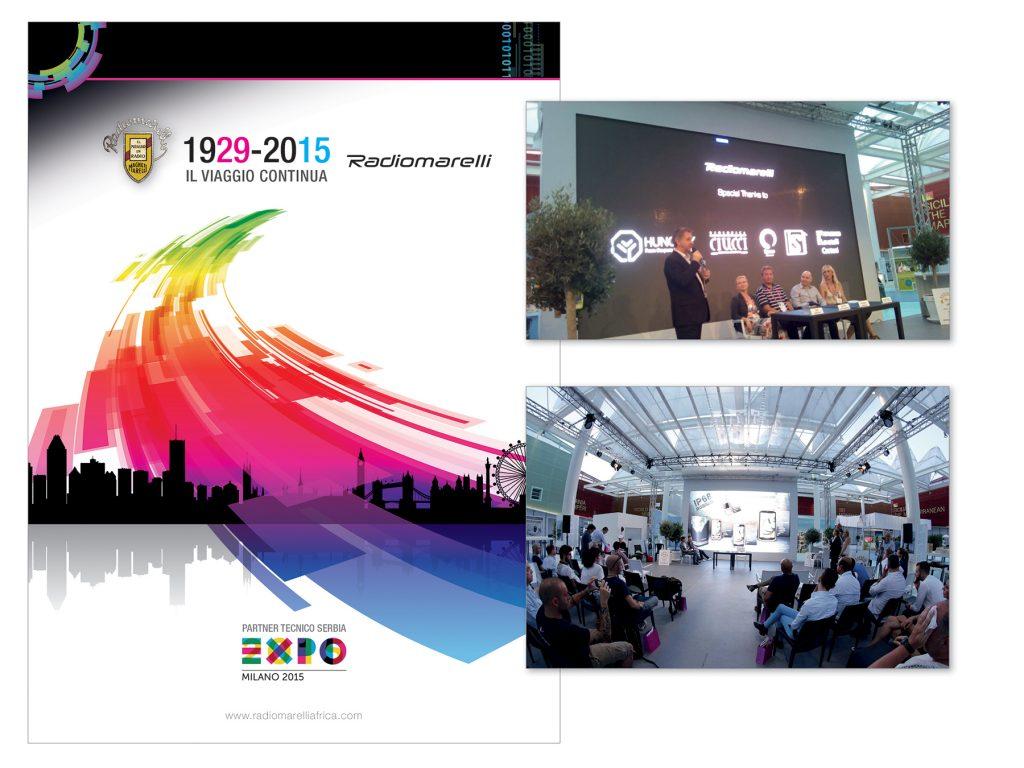 Radiomarelli :: Stand Fiera Expo 2015